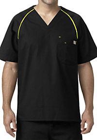 Carhartt Ripstop Men's V-neck Raglan Sleeve Scrub Tops
