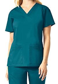 Carhartt Rockwall Women's Multi Pocket V-neck Scrub Tops