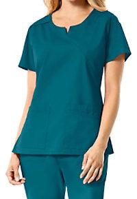 Carhartt Rockwall Women's Multi Pocket Mock Wrap Scrub Tops