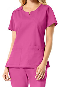 Carhartt Rockwall Women's Multi Pocket Mock Wrap Scrub Tops