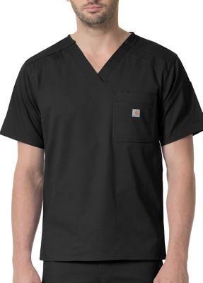 Carhartt Ripstop Rugged Flex Men's Slim Fit 6 Pocket Scrub Top