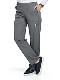 Flat Front Straight Leg Pants