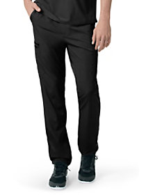 Slim Fit Straight Leg Pants