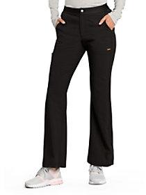 Flare Leg Zip Fly Pants