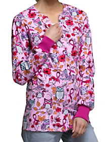 Owl About The Love Print Jacket