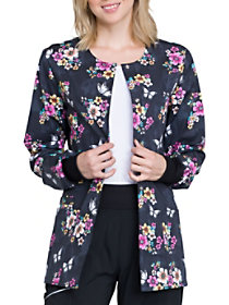 Butterflies and Blooms Print Jacket