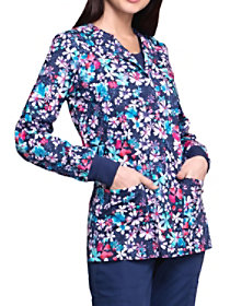 Floral Blast Print Jacket