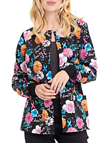 Love Is Beautiful Print Jacket