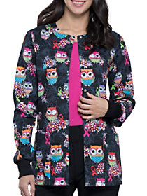 Let's Give A Hoot Print Jacket