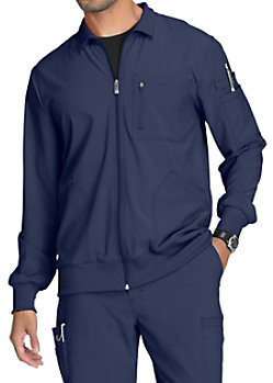 dccbd0f8e45 ... Warm Up Scrub Jackets · Infinity By Cherokee Men's Zip Front Jackets  With Certainty
