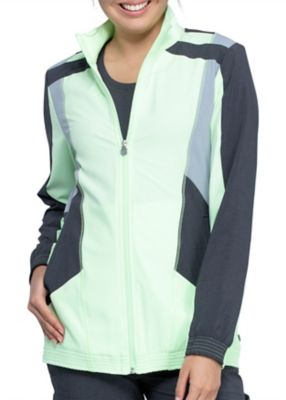 Infinity By Cherokee Limited Edition Color Block Scrub Jacket