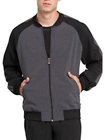 Contrast Zip Front Jacket