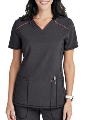 Infinity By Cherokee Limited Edition V Neck Scrub Top