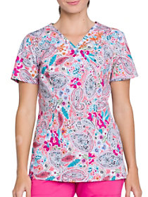 Paisley Perfection Print Top
