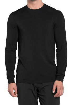 Infinity By Cherokee Men's Long Sleeve Underscrub Knit Tees With Certainty