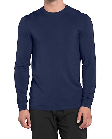 ec7abf6ef16 Infinity By Cherokee Men's Long Sleeve Underscrub Knit Tees With Certainty  | Scrubs & Beyond