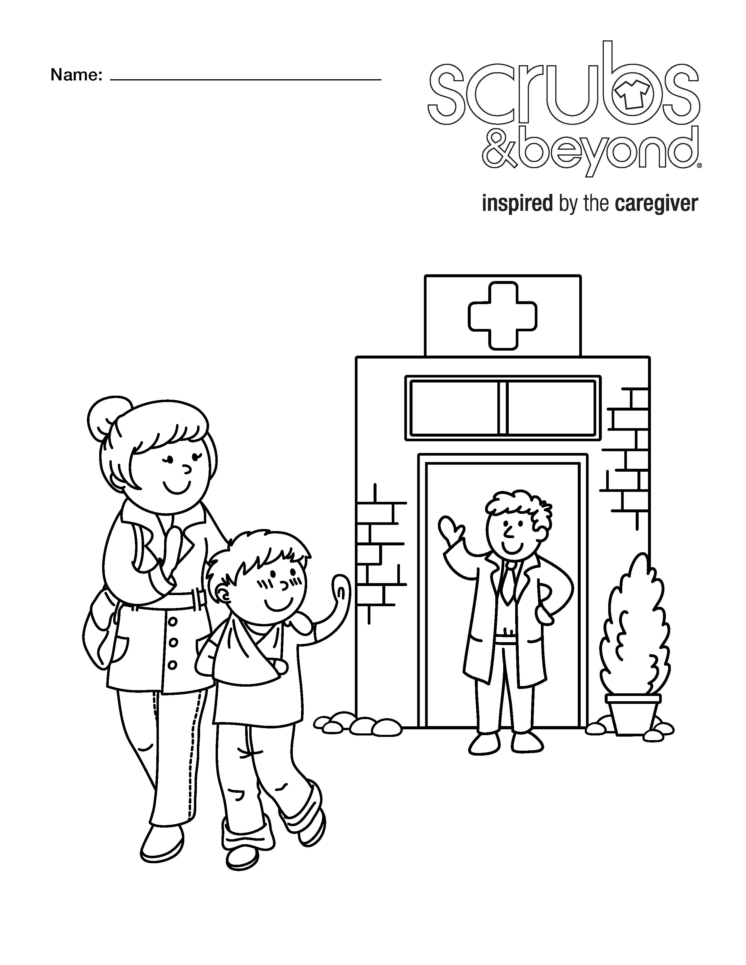 Delivered Doctor Tools Coloring Page unicorn coloring pages boys ...