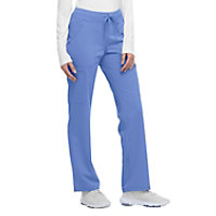 Dickies Xtreme Stretch Mid Rise Straight Leg Drawstring Pants