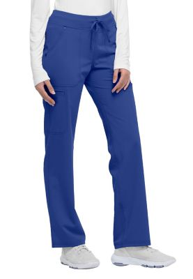 Dickies Xtreme Stretch Mid Rise Straight Leg Drawstring Scrub Pants