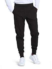 4 Pocket Elastic Waist Jogger Pants