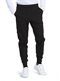 4 Pocket Elastic Waist Jogger Pants