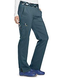 Camo Printed Elastic Waist Pants