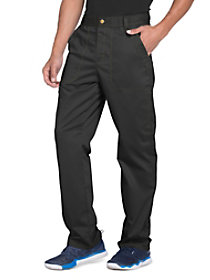 Button Front Zip Fly Pants