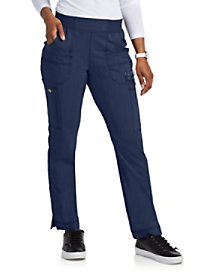 Two Tone Twist Pull On Pants