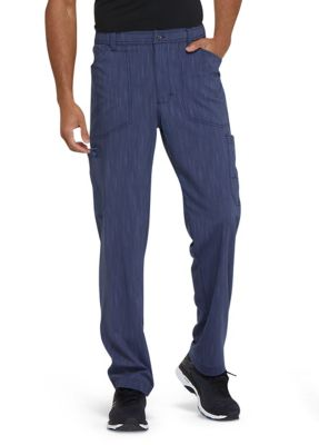 Two Tone Twist Zip Fly Cargo Pants