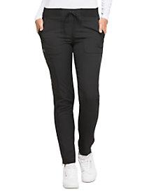 Natural Rise Straight Leg Drawstring Pants