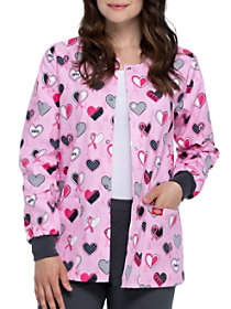 Actively Care Print Jacket