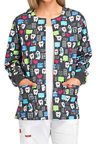 Dickies EDS Have A Laugh Print Scrub Jackets