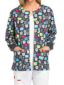 Have A Laugh Print Jacket