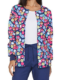 I Heart Flossing Print Jacket