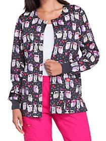 Love Hoo U Are Print Jacket