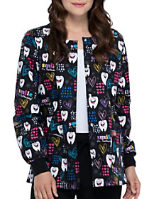 Smile, It's Toothsday Print Jacket