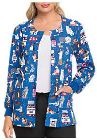 0f2b284d07f See Details item #DK301UL · Dickies EDS Unconditional Love Print Scrub  Jackets