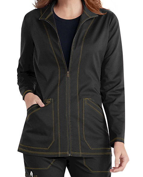 44ab4241fe6 Zip Front Warm Jacket