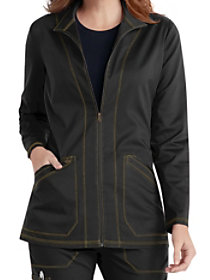 Zip Front Warm Jacket