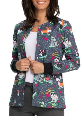 Good Times Roll Print Jacket
