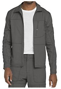 Dickies Dynamix Men's Zip Front Scrub Jackets