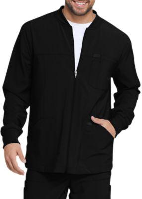 Dickies EDS Essentials Men's Full Zip Front Scrub Jackets