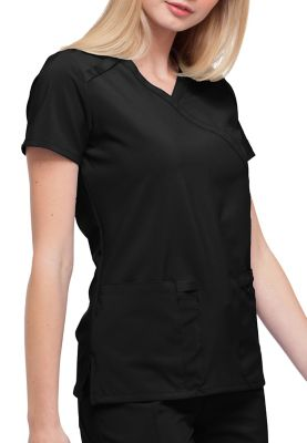 Dickies EDS Essentials Mock Wrap Scrub Tops