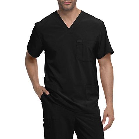 a5f2c26dcfd Dickies EDS Essentials Men's 3 Pocket V-neck Scrub Tops | Uniform City