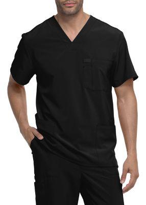 Dickies EDS Essentials Men's 3 Pocket V-neck Scrub Tops