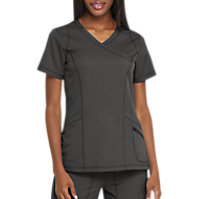 Dickies Dynamix Women's Mock Wrap Tops