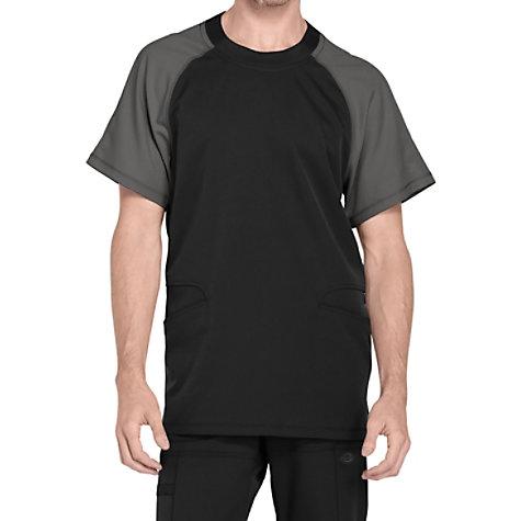 c6e972191ea Dickies Dynamix Men's Colorblock Crew Neck Scrub Tops | Uniform City