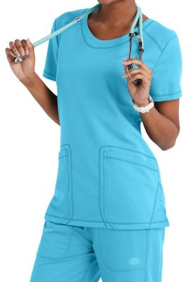 Dickies Dynamix Shaped V-neck Scrub Tops