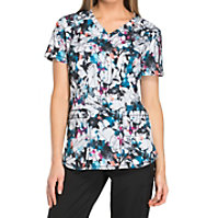 Dickies Dynamix Artisic Ambition V-neck Print Tops