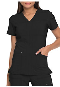99843f98e72 See Details item #DK760 · Dickies Advance Solid Tonal Twist V-Neck Scrub Top